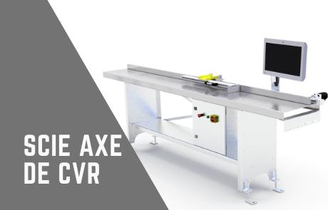 Miniature scie axe de CVR